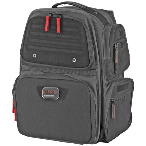 G-Outdoors, Inc G-outdrs Gps Executive Backpack Gray 819763011648