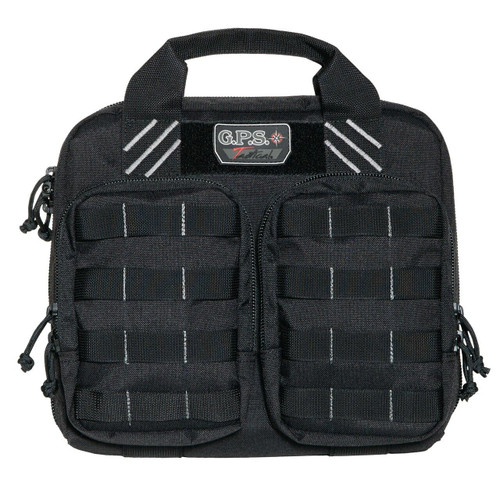 G-Outdoors, Inc G-outdrs Gps Tac Dbl Pistol Case Blk 819763010115