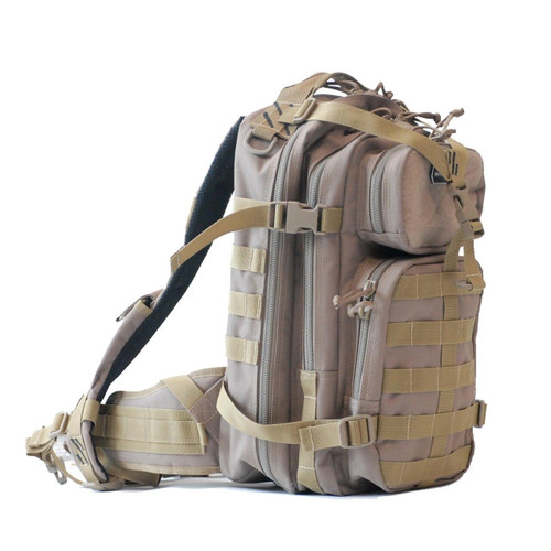 G-Outdoors, Inc G-outdrs Gps Tac Bugout Backpack Tan 819763011310