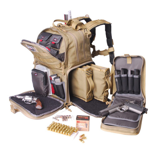 G-Outdoors, Inc G-outdrs Gps Tac Range Backpack Tan 819763010221
