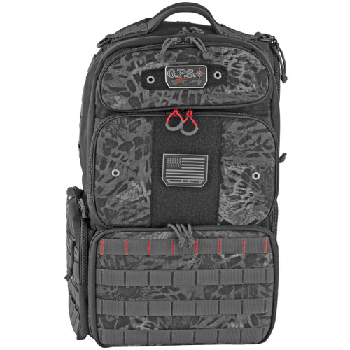 G-Outdoors, Inc G-outdrs Gps Tac Range Pack Blk Out 819763012621