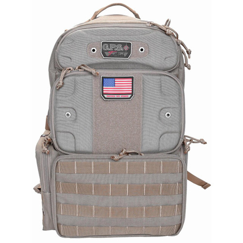 G-Outdoors, Inc G-outdrs Gps Tac Range Pack Tall Tan 819763011815