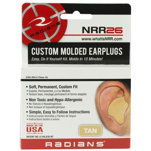 Radians Radians Custom Earplug Tan 674326231761