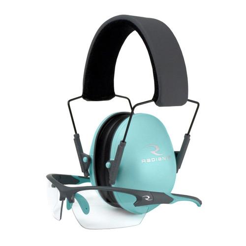 Radians Radians Lowset Muff/glasses Aqua 674326303178