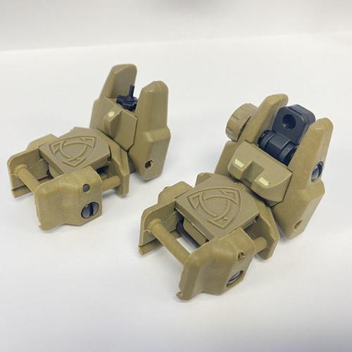 FIREHOG FireHog Mod-FBUS Dual Reticle Flip-up Back Up Iron Sight - FDE