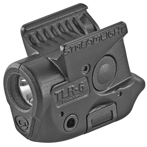 Streamlight Streamlight, TLR-6, Tac Light, For Sig P365, Black, 100 Lumens, No Laser 080926692855