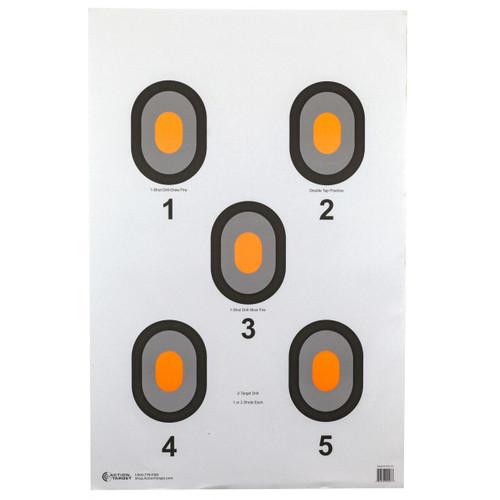 Action Target Action Tgt Org Center 5 Blseye 100pk 816506020080