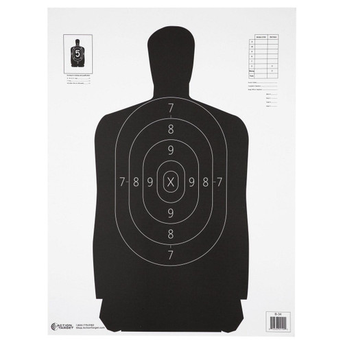 Action Target Action Tgt B34 Blk 100pk 816506026648