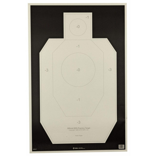 Action Target Action Tgt Idpa Paper 100pk 816506026679