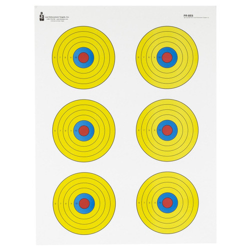 Action Target Action Tgt Bright 6 Bullseye 100pk 816506023760