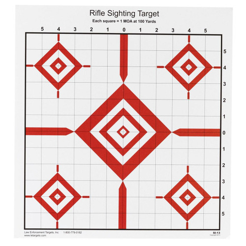 Action Target Action Tgt Rifle Sighting 100pk 816506026815