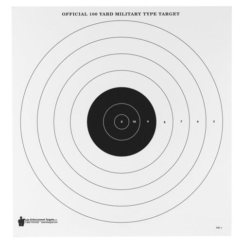 Action Target Action Tgt 100yrd Mil Bls Eye 100pk 816506026532