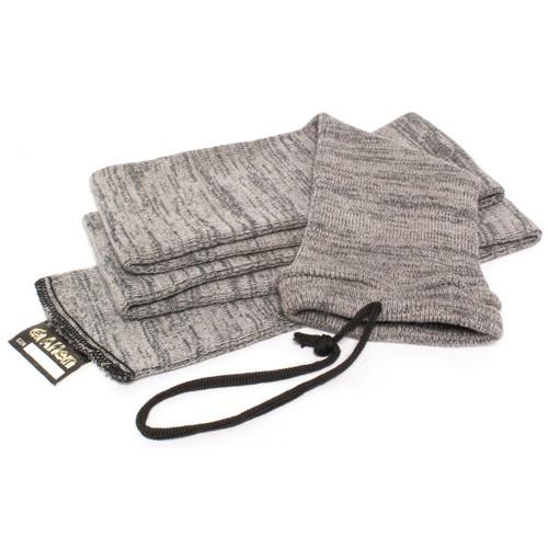 Allen Allen Knit Gun Sock 52 Gry 6pk 026509131601