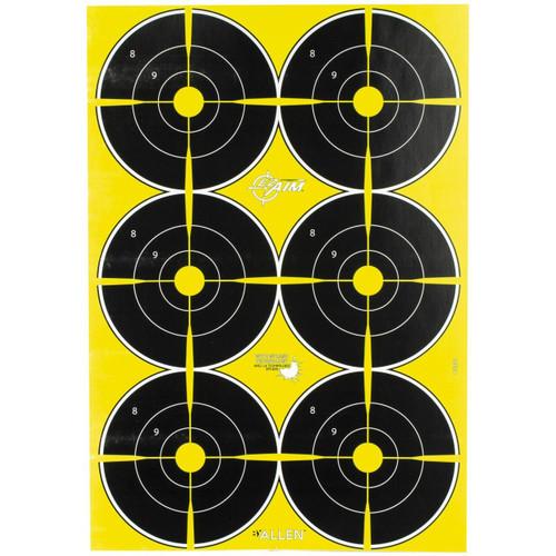 Allen Allen Ez Aim 12x18 Bullseye 8pk 026509053606