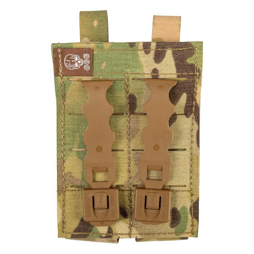 Grey Ghost Gear Ggg Double Pistol Mag Pouch Multi 810001172268