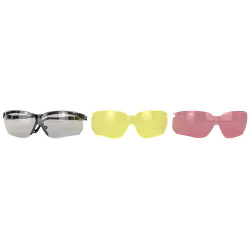 Howard Leight H/l Xc Glasses Combo 3 Lenses/case 033552016373