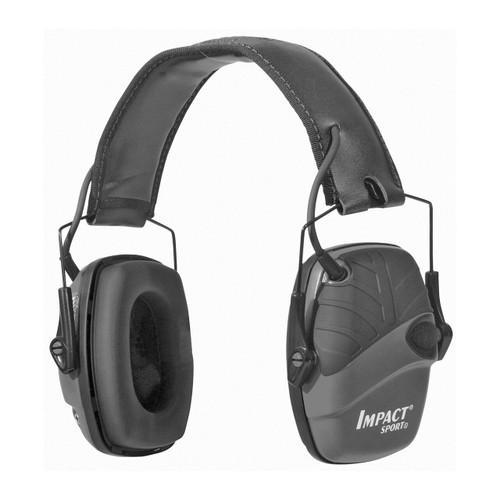 Howard Leight H/l Impact Sport Dlx Headband Blk 033552025245