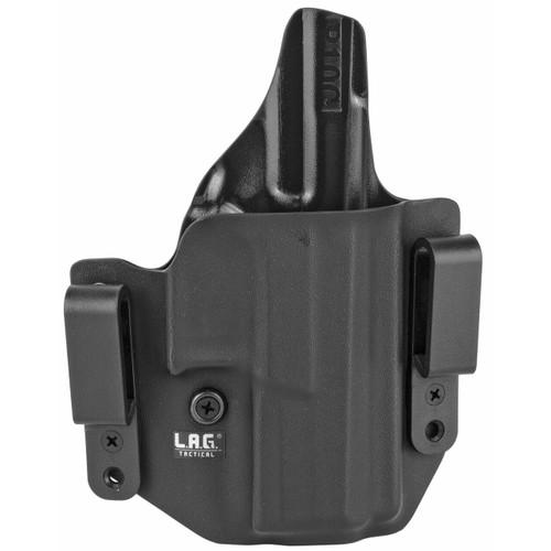 LAG Tactical, Inc Lag Dfndr Cz P-10 C Owb/iwb Blk Rh 811256026597