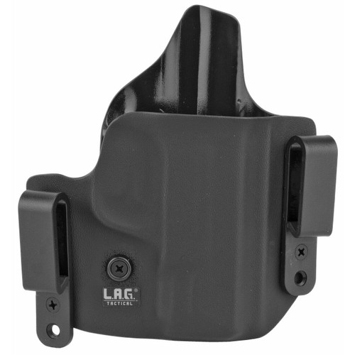 LAG Tactical, Inc Lag Dfndr Sandw Mandp Shield 45 Blk Rh 811256025934