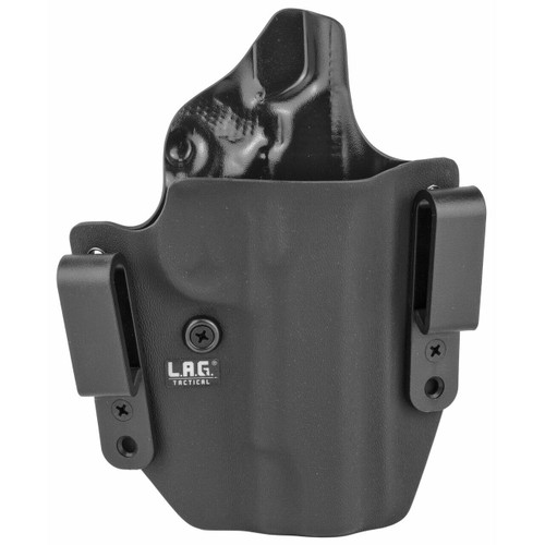 LAG Tactical, Inc Lag Dfndr 1911 4 W/o Rail Blk Rh 811256020960