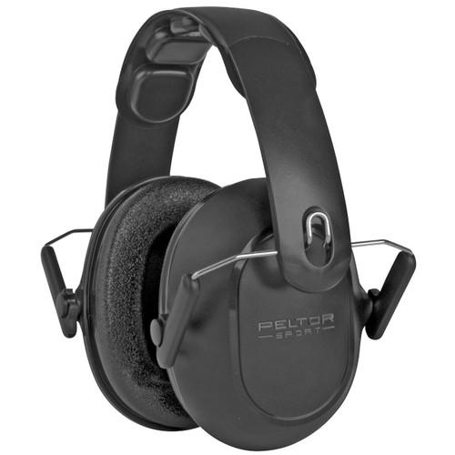 3M/Peltor Peltor Sport Youth Earmuff Black 638060661765