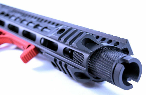 Blowout 1/2x36 Banshee Slim 2 Piece Linear Can Krink Muzzle Brake 9mm