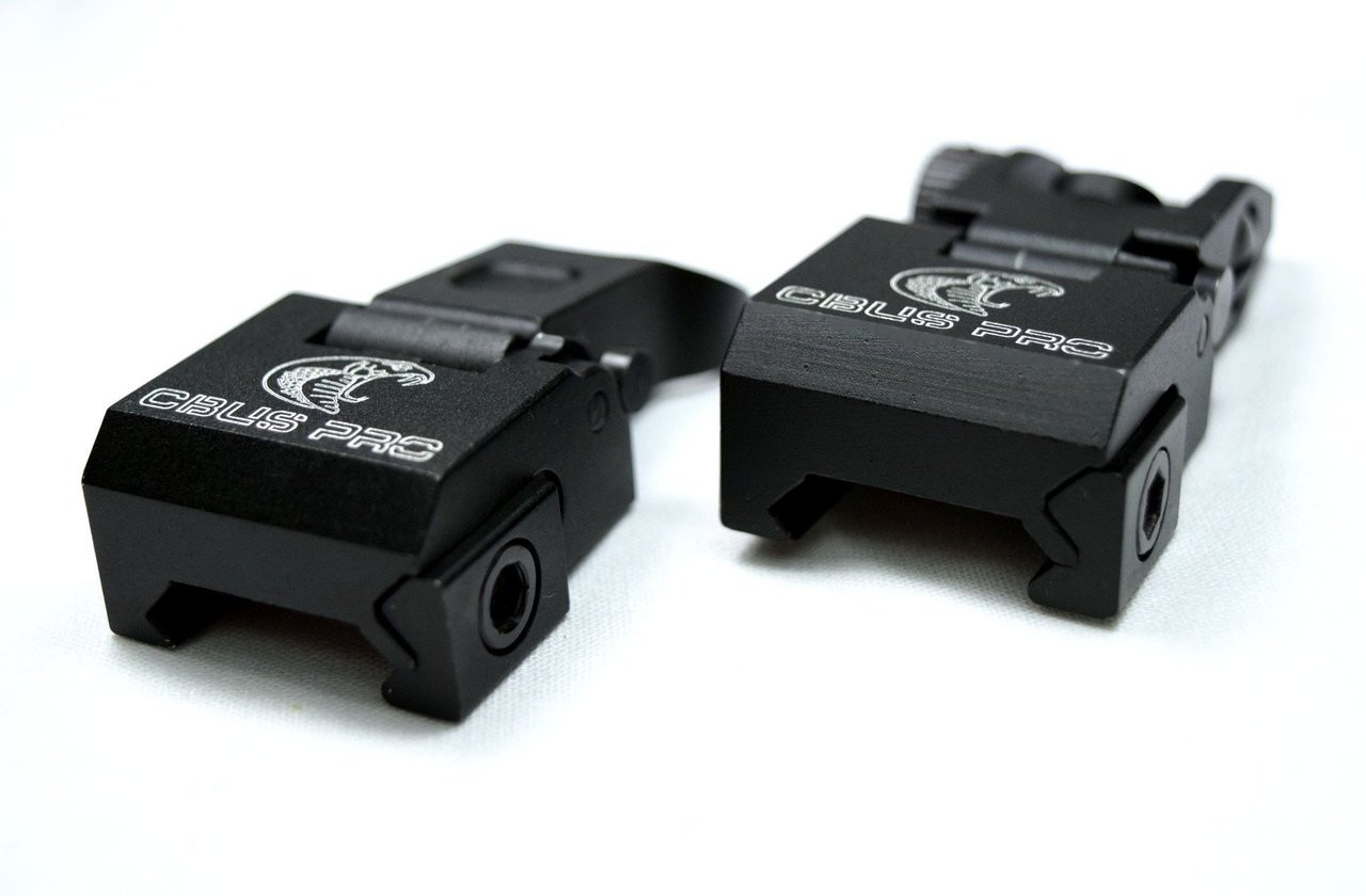 CBUS Metal Back up Iron Sight Set ALT to MBUS