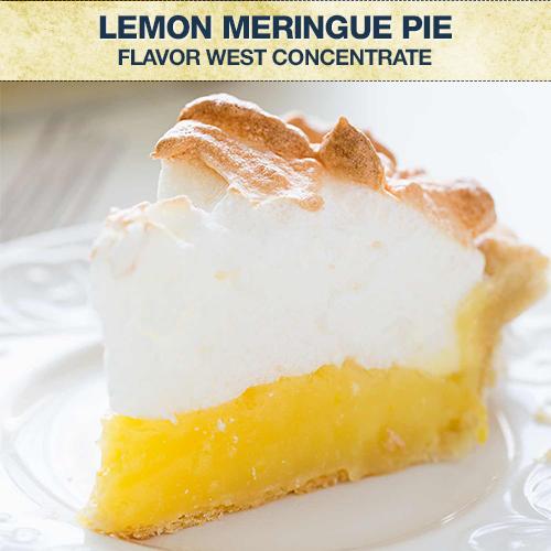 Flavor West Lemon Meringue Pie Concentrate