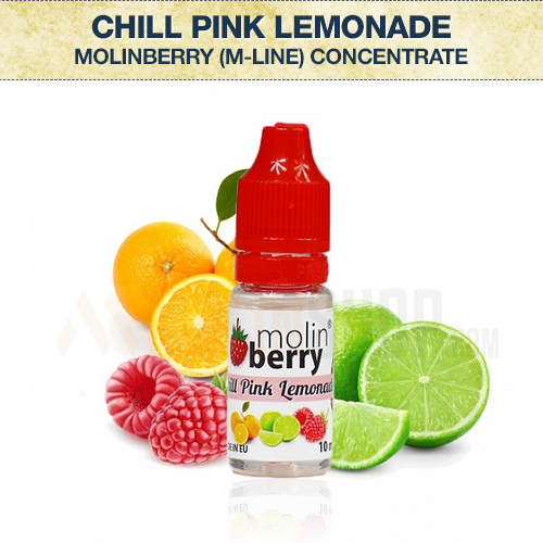 Molinberry Chill Pink Lemonade (M-Line) Concentrate