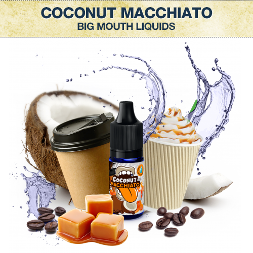 Big Mouth Coconut Macchiato Concentrate
