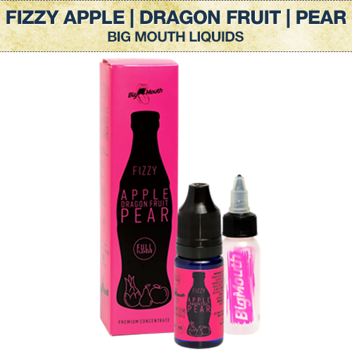 Big Mouth Fizzy Apple | Dragon Fruit | Pear Concentrate