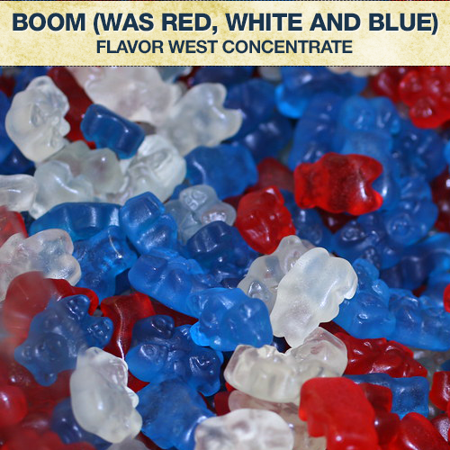 Flavor West Boom (was Red White and Blue) Flavour Concentrate