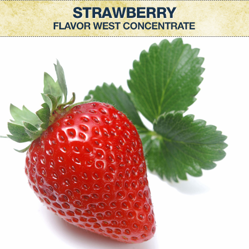 Flavor West Strawberry Flavour Concentrate