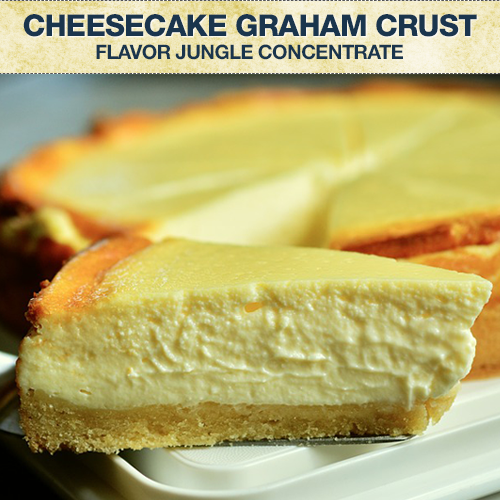 Flavor Jungle Cheesecake Graham Crust Concentrate