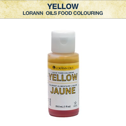 LA Yellow Food Colouring