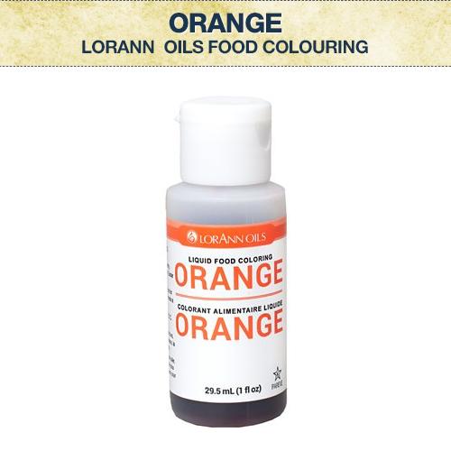 LA Orange Food Colouring