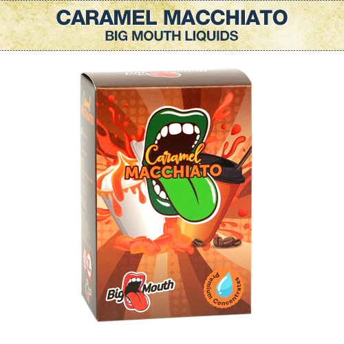 Big Mouth Caramel Macchiato Concentrate