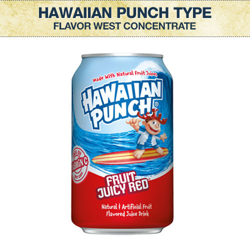 Flavor West Hawaiian Punch Type Flavour Concentrate