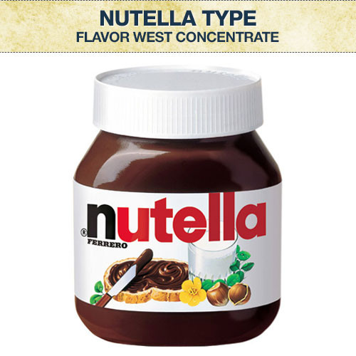 Flavor West Nutella Type Flavour Concentrate