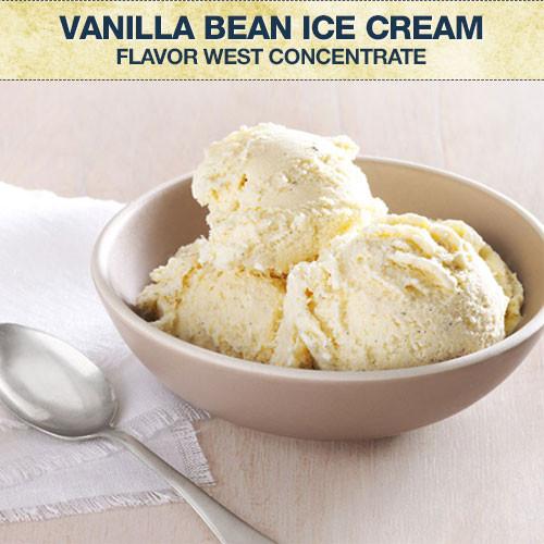 Flavor West Vanilla Bean Ice Cream Flavour Concentrate