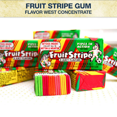 Flavor West Rainbow Line Gum (was Fruit Stripe Gum) Flavour Concentrate