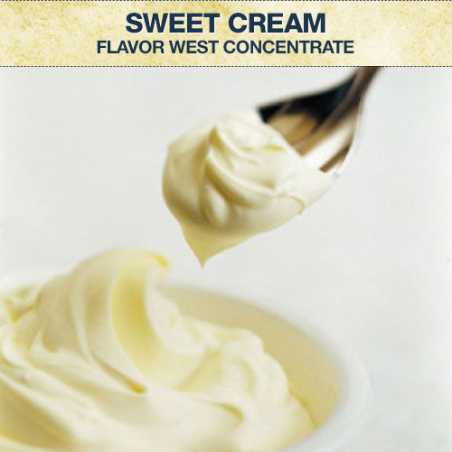 Flavor West Sweet Cream Flavour Concentrate