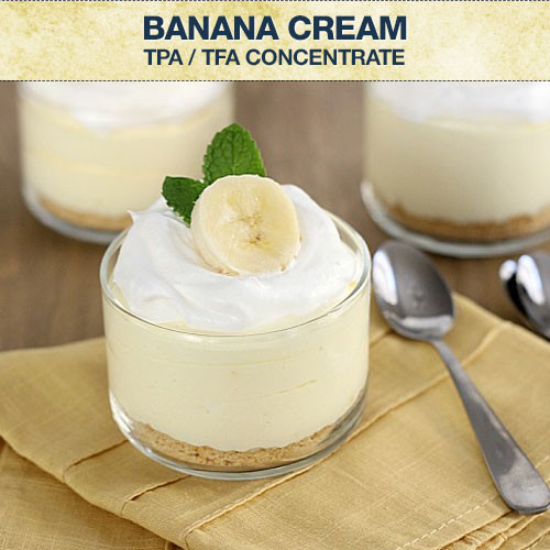 TPA / TFA Banana Cream Concentrate