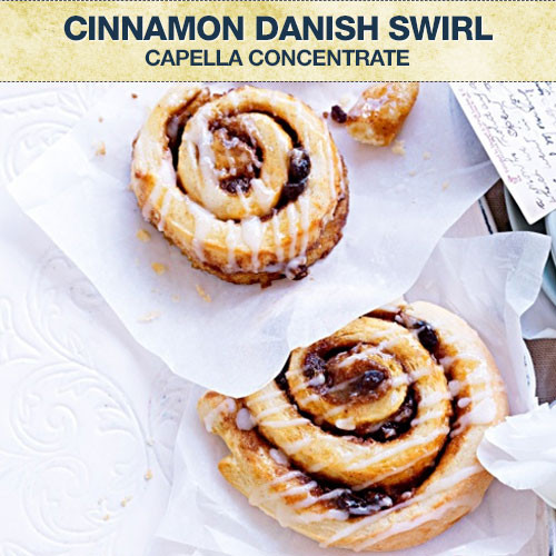 Capella Cinnamon Danish Swirl Concentrate