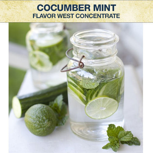 Flavor West Cucumber Mint Concentrate