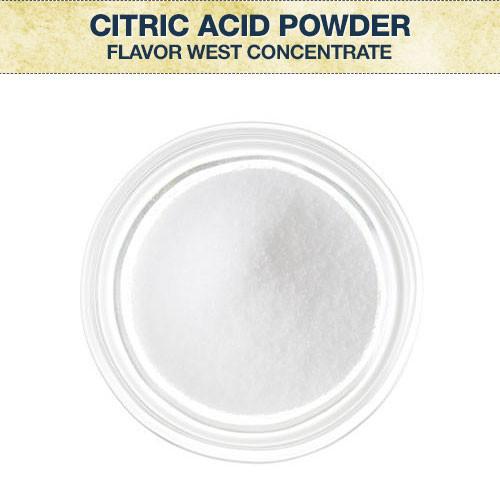 Flavor West Citric Acid Powder