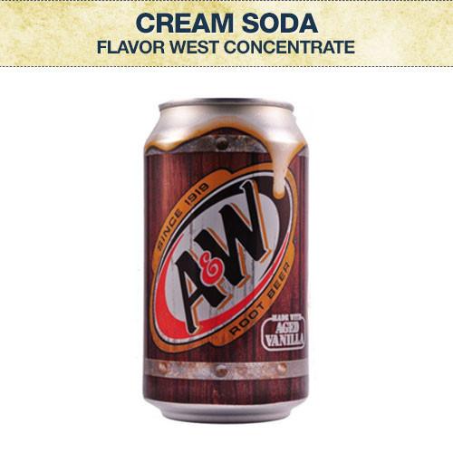 Flavor West Cream Soda Concentrate