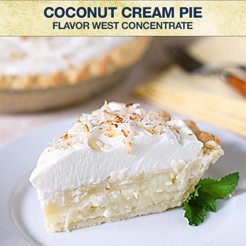 Flavor West Coconut Cream Pie Concentrate