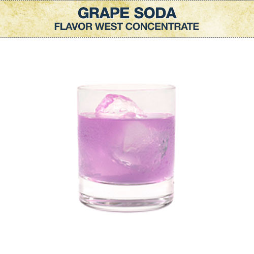 Flavor West Grape Soda Concentrate