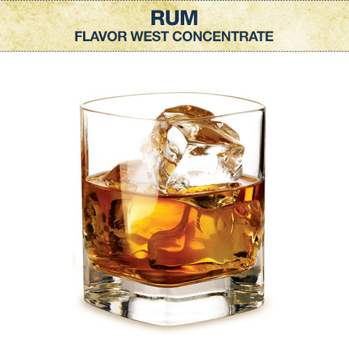 Flavor West Rum Concentrate